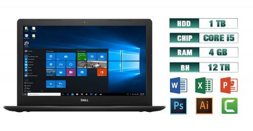 Laptop Dell Inspiron 3580 i5 4GB HDD 1 TB Black | Máy Tính Giá Rẻ