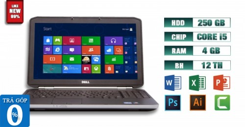 Laptop Dell Latitude E5520 i5 4GB Like New 99% | Máy Tính Giá Rẻ