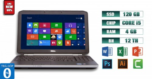 Laptop Dell Latitude E5520 i5 4GB SSD 120GB
