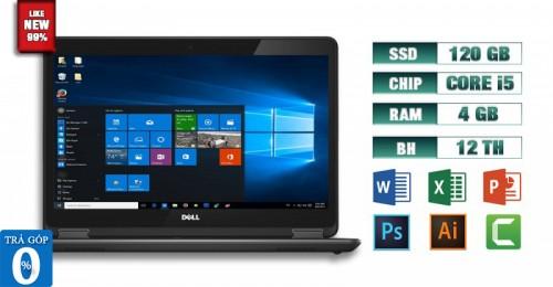 Laptop Dell Latitude E7440 i5 4GB SSD 120GB   Máy Tính Giá Rẻ