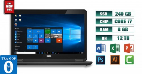 Laptop Dell Latitude E7440 i7 8GB Like New 99% | Máy Tính Giá Rẻ