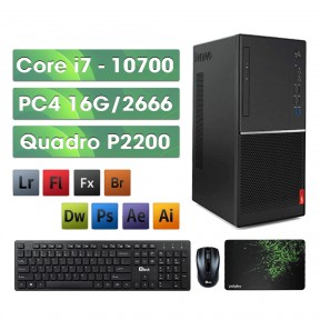 PC Lenovo Design i7 - Quadro